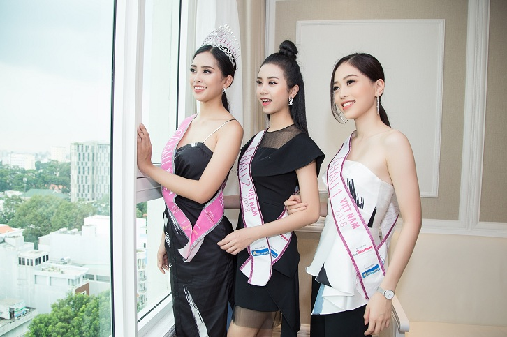 TOP 3 OF MISS VIETNAM SHARE THEIR MEMORIES ABOUT LEMAN LUXURY APARTMENTS