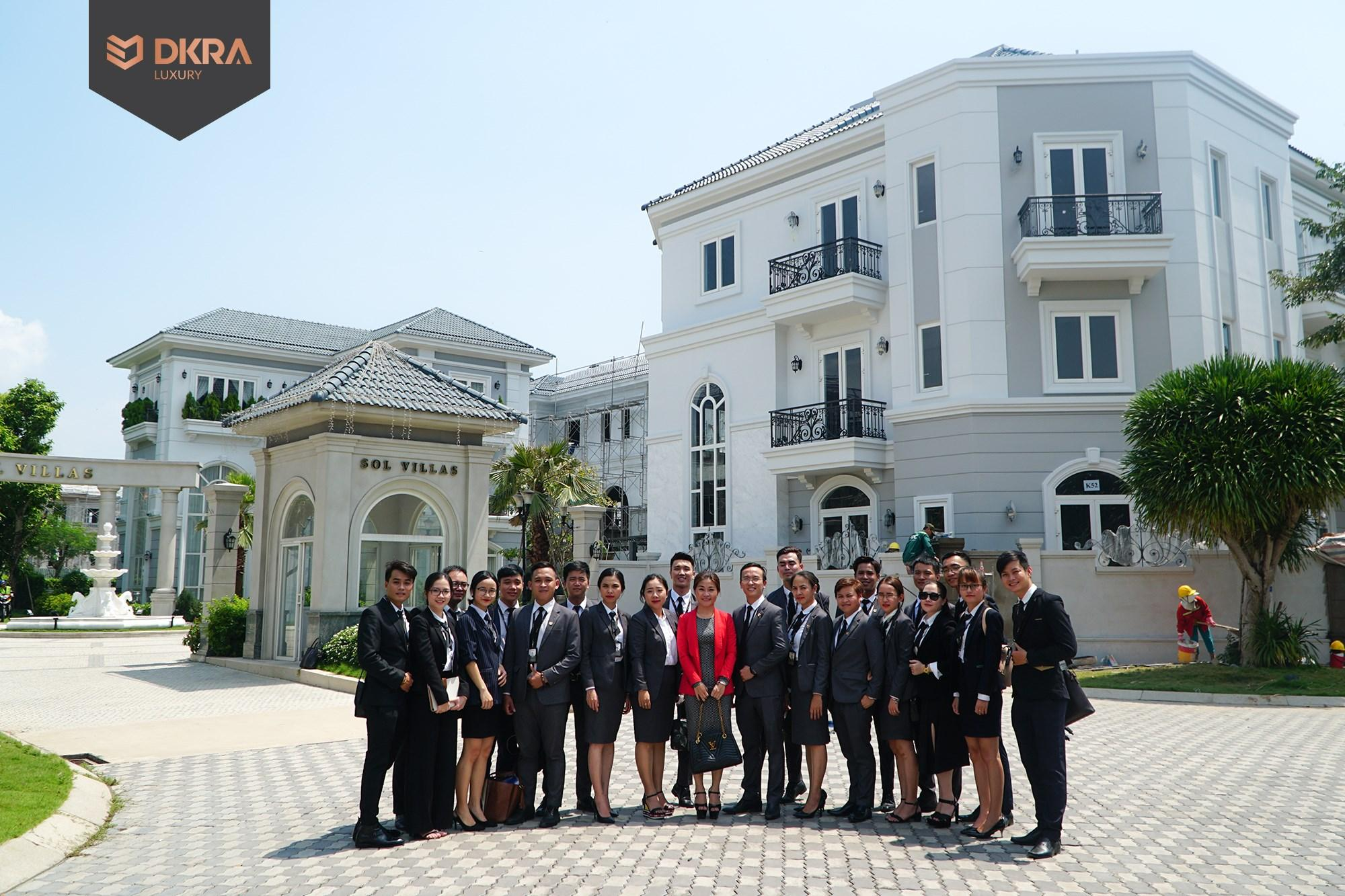DKRA LUXURY JOINED THE TRAINING PROGRAM OF THE HIGH-CLASS SOL VILLAS COMPOUND VILLA